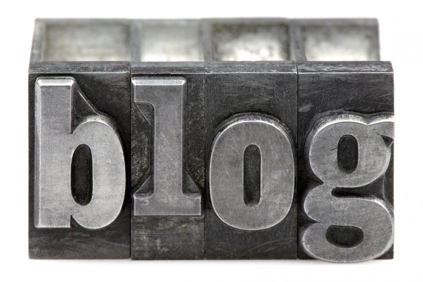 updating a blog