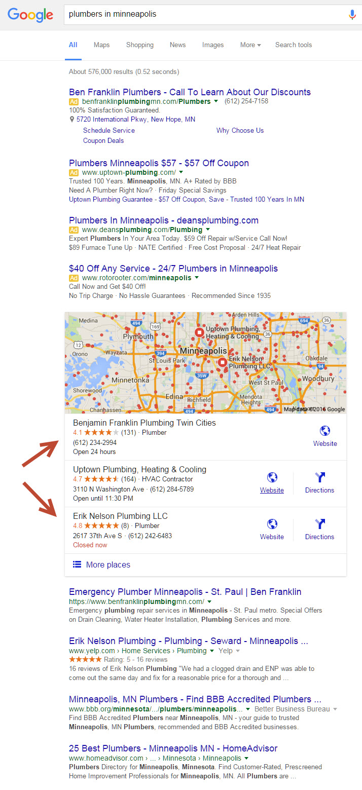 local seo for small businesses tvs internet marketing llc